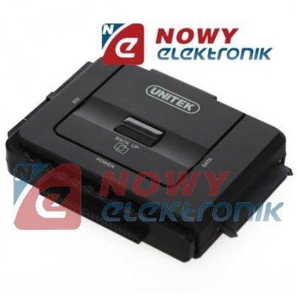 "Adapter HDD 2.5""/3.5"" /USB 3.0  SATAIII ATA UNITEK Y-3322 DUAL mostek"