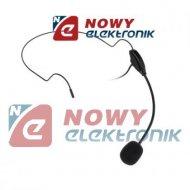 Mikrofon nagłowny TL-9703 AZUSA konferencje, wtyk Jack 3,5mm