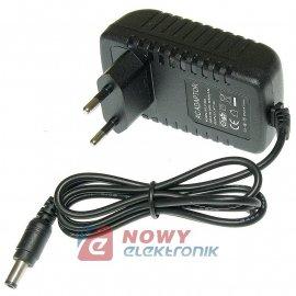 Zasilacz ZI 12V/2A      NEPOWER wtyk:2,5/5,5 impulsowy LED