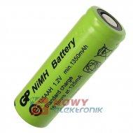 Akumulator do pakietu GP-4/5AABB bez blaszek AAH 1,2V 1350mA 14x42mmNi-MH