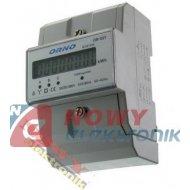 Miernik poboru energii 3-fazowy OR-03Y elektroniczny DIN ORNO