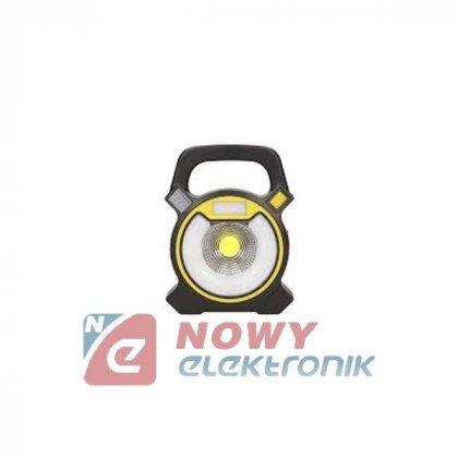Latarka GIOVIA LED 5W 6000K ORNO Naświetlacz akumulatorowy