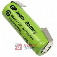 Akumulator do pakietu GP-4/5AAZB z blaszk. AAH 1,2V 1350mA 14x42mmNi-MH