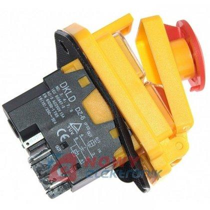 Przeł. do elektron.DKLD-DZ6 5pin do miniCPN 230V  z klapką