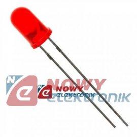 Dioda LED 5mm czerw.H L-53LSRD 8-20mcd 60°