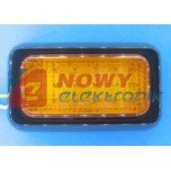 Lampa LED KW-214Y 12-24V żółto pomarańczowa obrysowa