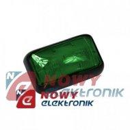 Lampa LED KW-205 G 12-24V zielona obrysowa