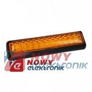 Lampa LED KW-204 Y 12-24V żółto pomarańczowa obrysowa