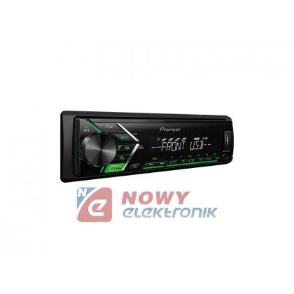 Radio samoch.PIONEERMVH-S100UBG USB zielony