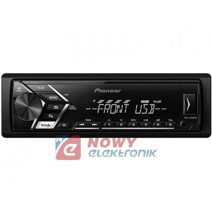 Radio samoch.PIONEERMVH-S100UBW USB biały
