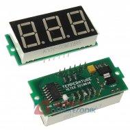 Moduł termometr dla DS18B20 0,56 cala czerwony miernik ARDUINO KLON