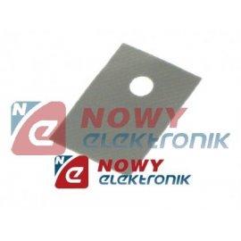 Podkładka silikonowa TO 220 (18x13mm)