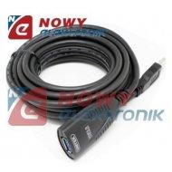 Kabel USB 3.0 5m AKTYWNY Y-3015 ze wzmacniaczem UNITEK  przedł.