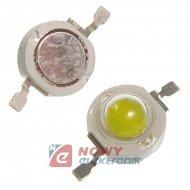 Dioda LED 5W biała 6500K 280lm 120° 700mA 6V-8V