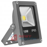 Halogen LED 10W szary SLIM 6000K COB 650lm Biały zimny