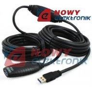Kabel USB 3.0 10m AKTYWNYY-3018