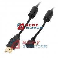 Kabel USB Wt.A-mikroUSB 1m kąt Gold (micro) kątowe