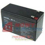 Akumulator 12V-7,5Ah      VIPOW żelowy
