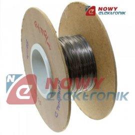Drut oporowy Kanthal D fi 0,20mm do 1300st.C Oporność:43,00 ohm/m Szwecja
