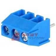 Listwa ARK350-3 listwa 3 pola r-3.5 niebieska do 1.5mm2