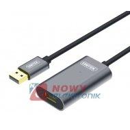 Kabel USB 2.0 wt.A/gn.A 15m AKT. Premium ze wzmacniaczem UNITEK Y-273
