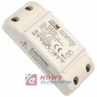 Zasilacz ZI LED prąd. 700mA 9-17V LED Driver PFC IP20
