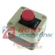 Przełącznik w obud. NC SA-LB-116 chwilowy przycisk wystający