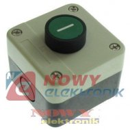 Przełącznik w obud. NO SA-LB-102 zielony chwilowy przycisk