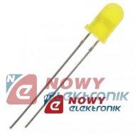 Dioda LED 5mm żółta migająca L-56BYD