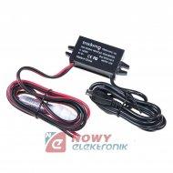 Ładowarka USB micro 12-24V/5V3A zasilacz m.in. TRACKIMO GPS lokalizator
