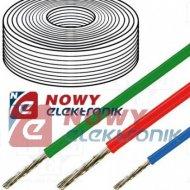 Przewód silikonowy 1,00mm2 czerw czerwony 500V HELUKABEL linka
