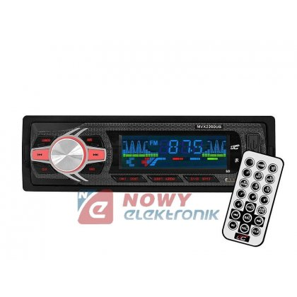 Radio samoch.LTC MVX2200UB USB/SD/AUX 4x45W