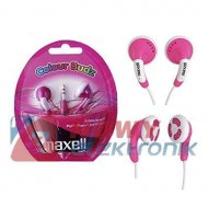 Słuchawki MAXELL COLOR BUDZ Czer purpurowe