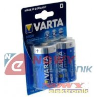 Bateria LR20 VARTA POWER LONGLIF LONGLIFE POWER / VARTA HIGH ENERGY