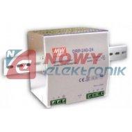 Zasilacz imp. DIN 24V/10A DRP240 DRP 240-24 Przemysłowy na szynę