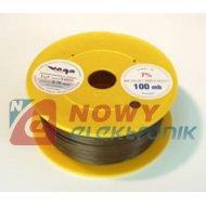 Przewód LGY 500V 0,50mm brązowy