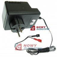 Ładowarka LZ 6V 400mA zasilacz Automat. akumulatorów żelowych 1.2~7 Ah