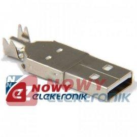 Wtyk USB typ A  na kabel