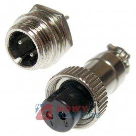 Złącze przem. DS-11-10-01-2B6 (wt+gn)  przemysłowe MINI