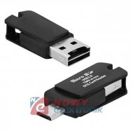 Czytnik kart pam. USB/micro USB pamięc pendrive
