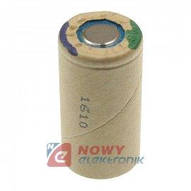 Akumulator do pakietu SC3Ah PP Panasonic(bez blaszek)22x42mm 1,2V Ni-Mh