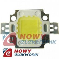 Dioda POWER LED 10W  4000-4500K INTEGRATE H-1  dzienne