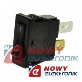 Przełącznik H8800VB ON-OFF slim 1tor 10A/250VAC Kołysk.