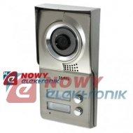 Kamera Vid. VO-702A natynkowy   dwurodzinny kolor(videodomofon)ZAMEL