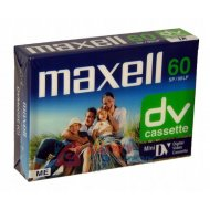 Kaseta VIDEO do kamer DV MINI  M Maxell 60m DVM60 cyfrowa