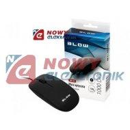 Mysz optyczna BLOW MP-30 czarna USB