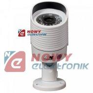 Kamera HD-AHD THD20-720P-3,6    HD 1,4MPX 720P 3,6mm IR20m biała tuba