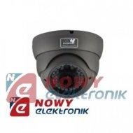 Kamera HD-AHD KHDT30C-720PMZ ULC 1,0MPX 720P 2,8-12mm IR30m szara kopułka