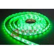 Taśma LED SMD5050 zielony (1m) (300LED/5m) bez silikonu 12V
