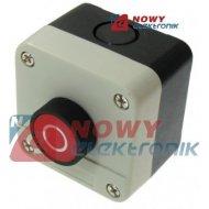 Przełącznik w obud. NC   SALB112 przycisk chwilowy